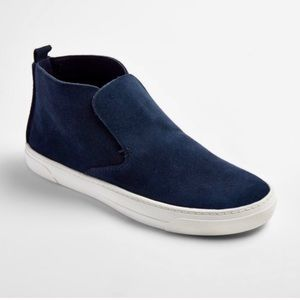 DV by Dolce Vita Navy Suede High Top Sneakers